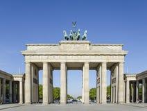Branderburg port, Berlin germany arkivfoto