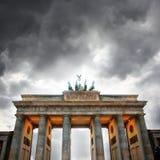 Branderburger Tor. Brandergurber Tor - Victory Gate of Berlin Royalty Free Stock Photography