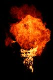 brandflamma arkivbild