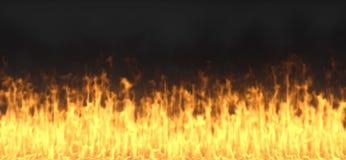 Brandflamma Royaltyfria Foton
