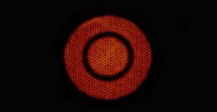 Brandflammaabstrakt begrepp arkivbild