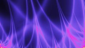 Brandfractal bliksem, de achtergrond van de plasmamacht royalty-vrije illustratie