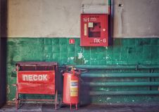 Brandhoek Royalty-vrije Stock Fotografie