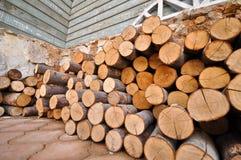 brandhout royalty-vrije stock foto
