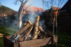 brandhout Royalty-vrije Stock Fotografie