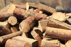 brandhout Royalty-vrije Stock Afbeeldingen