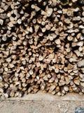 brandhout stock fotografie