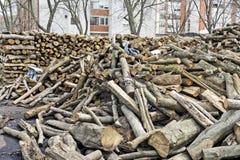 Brandhout voor Verkoop Royalty-vrije Stock Foto