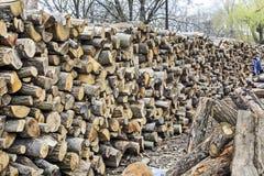Brandhout voor Verkoop Stock Afbeeldingen