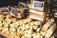 Brandhout voor Verkoop royalty-vrije stock fotografie