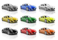 Brandies Car Automobile Vehicle Concept.  Stock Photography