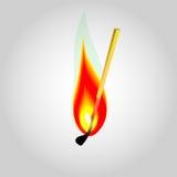 Brandillustration Arkivfoto