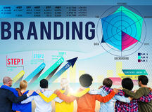 Branding Advertising Commercial Copyright Marketing Concept Royalty Free Stock Photos