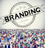 Branding Brand Copyright Trademark Marketing Concept Royalty Free Stock Image
