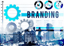 Branding Brand Patent Product Value Concept.  royalty free stock photo