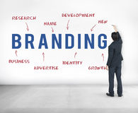 Branding Business Company Strategy Marketing Concept stock image