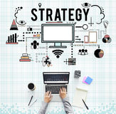 Branding Business Marketing Strategy Concept. Branding Business Advertising Marketing Strategy royalty free stock photography