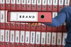 Branding Business Marketing Strategy Concept, Stock Image
