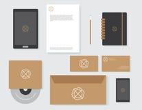 Branding company set template Royalty Free Stock Photos