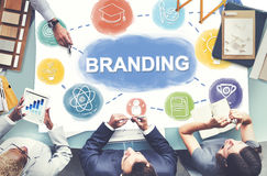 Branding Creative Brand Business Graphic Concept stock images