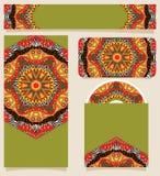 Branding Design African Theme Ornaments Stock Photos