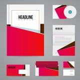 Branding design template Stock Photography