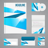 Branding design template Royalty Free Stock Photos