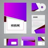 Branding design template Stock Image