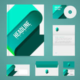 Branding design template Royalty Free Stock Photo