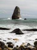 Branding dichtbij Kaap Fiolent Stock Foto