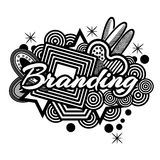 Branding doodles. Vector Illustration on white background. EPS file available. see more images related Royalty Free Stock Photo