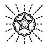 Branding icon vector royalty free illustration