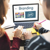 Branding Ideas Design Identitiy Marketing Concept. People Branding Ideas Design Identitiy Marketing stock image