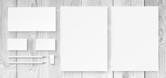 Branding identity mock up Stock Photo