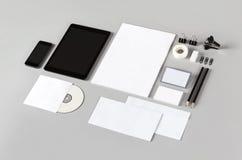 Branding identity. Photo. Template for branding identity. For graphic designers presentations and portfolios Stock Photo