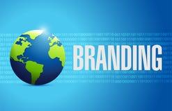 Branding international tech sign concept Royalty Free Stock Photo