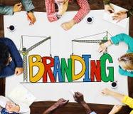 Branding Market Name Strategy Trademark Concept Stock Image