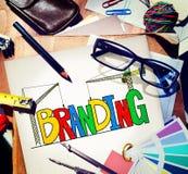 Branding Market Name Strategy Trademark Concept royalty free stock photos