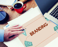 Branding Marketing Commercial Trademark Concept royalty free stock photography