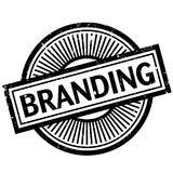 Branding rubber stamp Stock Photo