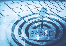Branding and setting goal for business Stock Images