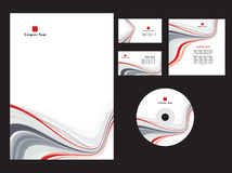 Branding style. Elements of corporate branding style. Vector Stock Photo