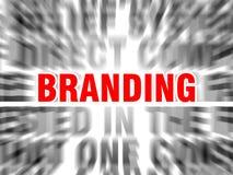 branding ilustración del vector