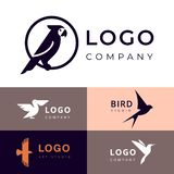 Branding for travel, zooshop or other company vector illustration