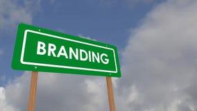 Branding stock video