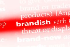 brandish Royalty Free Stock Photography