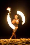 Brandjonglör Royaltyfri Fotografi