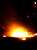 brandjordning Arkivfoton