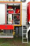 Brandkårutrustning Royaltyfria Foton