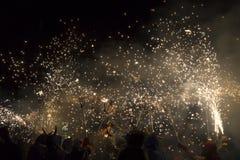 Brandkörning, La Merce Royaltyfria Bilder